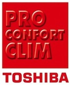 toshiba pro confort